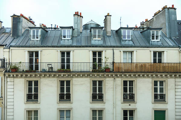 Capital Cities Photograph - Roof Of Paris by © Giulio R.c.