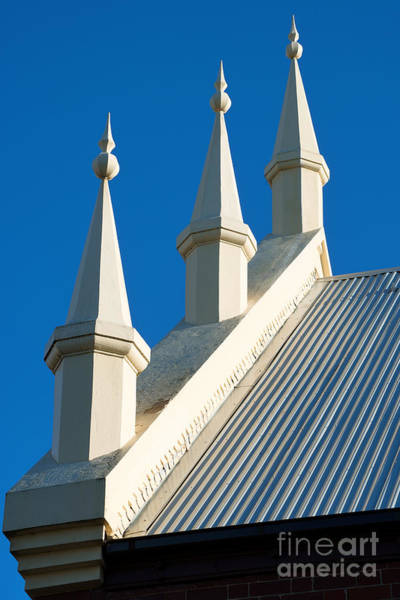 Photograph - Roof Of Uniting Church At Blue Mountains by Yew Kwang
