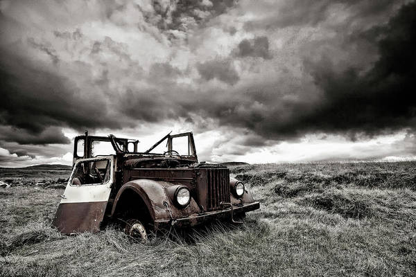 Old Car Wall Art - Photograph - Roofless by ?orsteinn H. Ingibergsson