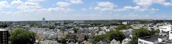 Photograph - Jamaica Ny Rooftop Panorama by Bob Slitzan