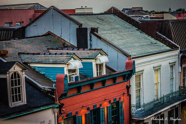 Photograph - Rooftop View by Deborah Hughes