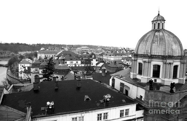 Wall Art - Photograph - Rooftop View In Praha by John Rizzuto