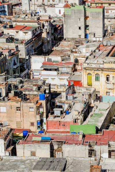 Photograph - Rooftops In Havana Cuba by Rob Huntley