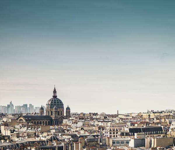 Paris Rooftop Photograph - Rooftops Of Paris by Philipp Götze