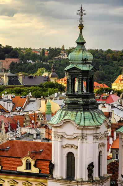 Rooftops Of Prague 1 Art Print