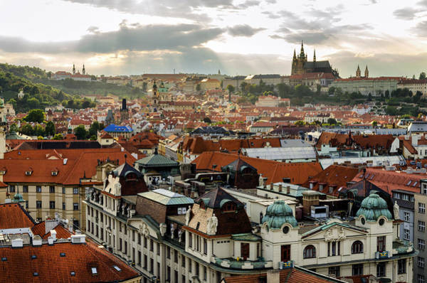 Photograph - Rooftops Of Prague 2 by Pablo Lopez
