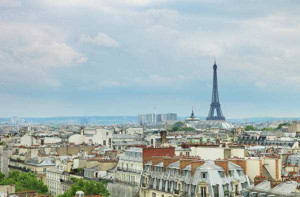 Paris Rooftop Photograph - Rooftops Story - Paris City View by Svetoslava Slavova