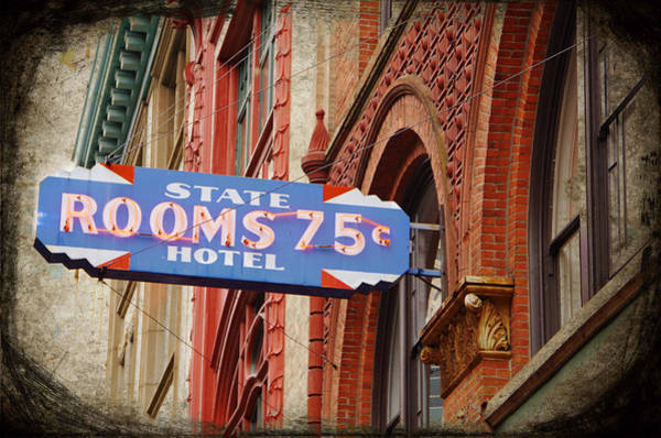 Photograph - Rooms 75 Cents by Marilyn Wilson
