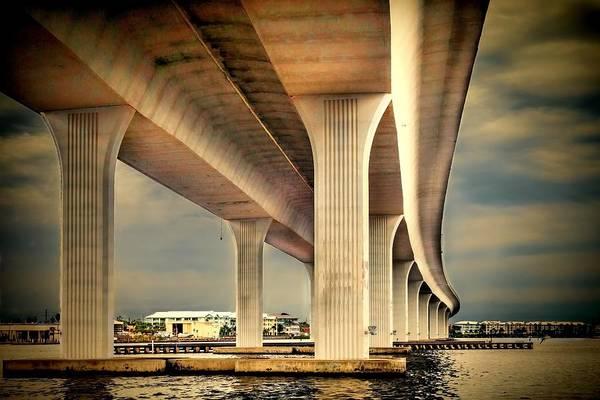 Photograph - Roosevelt Bridge-1 by Rudy Umans