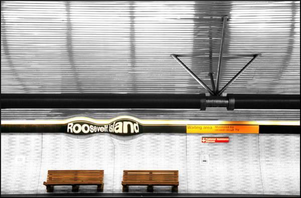 Roosevelt Island Photograph - Roosevelt Island Subway Station by Valentino Visentini