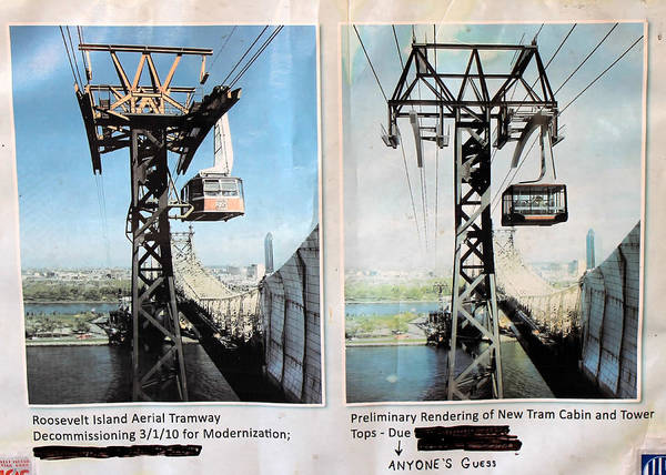 Aerial Tramway Wall Art - Photograph - Roosevelt Island Tramway by Andrew Fare