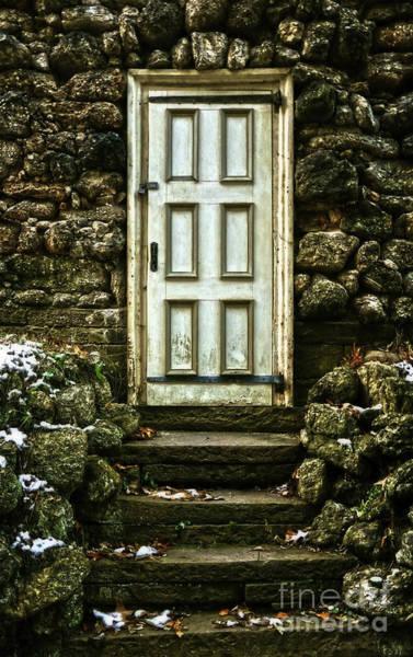 Photograph - Root Cellar Door by Debra Fedchin