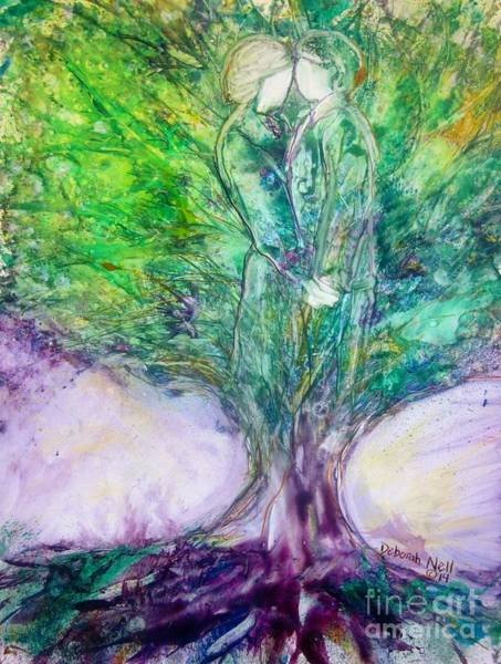 Painting - Rooted In Love by Deborah Nell