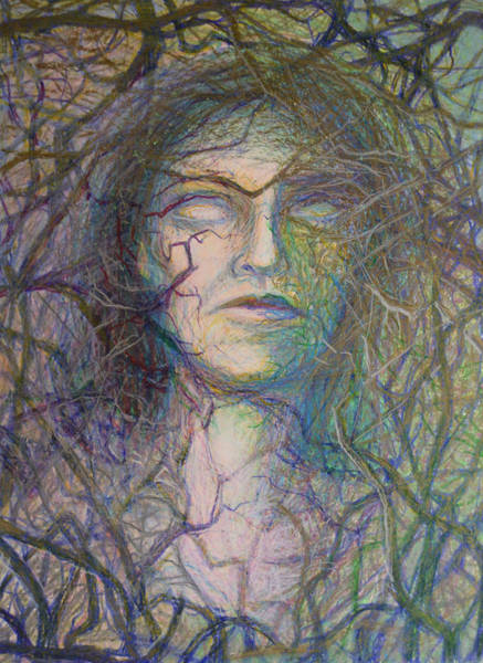 Entangled Painting - Roots by Nancy Mauerman