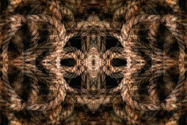 Digital Art - Rope Mantra 11 by Lynda Lehmann