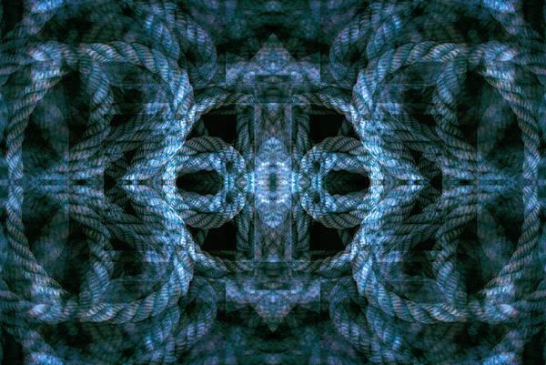 Digital Art - Rope Mantra 15 by Lynda Lehmann
