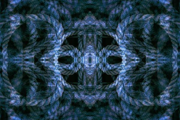 Digital Art - Rope Mantra 16 by Lynda Lehmann