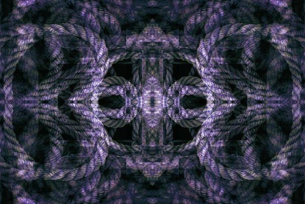 Digital Art - Rope Mantra 19 by Lynda Lehmann