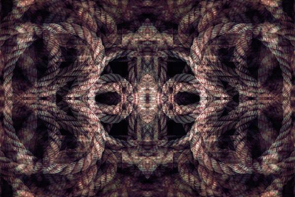 Digital Art - Rope Mantra 20 by Lynda Lehmann