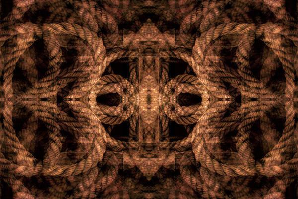 Digital Art - Rope Mantra 25 by Lynda Lehmann
