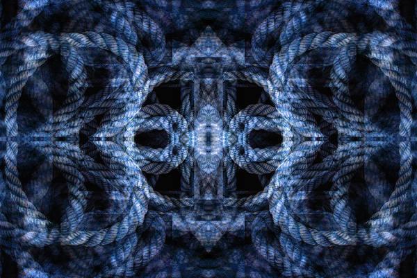 Digital Art - Rope Mantra 9 by Lynda Lehmann