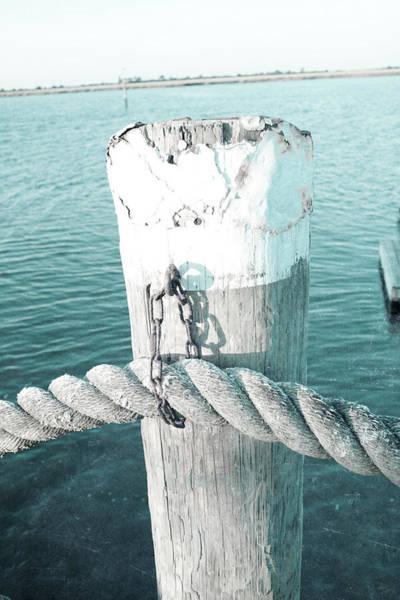 Wall Art - Digital Art - Rope On Post II by Susan Bryant