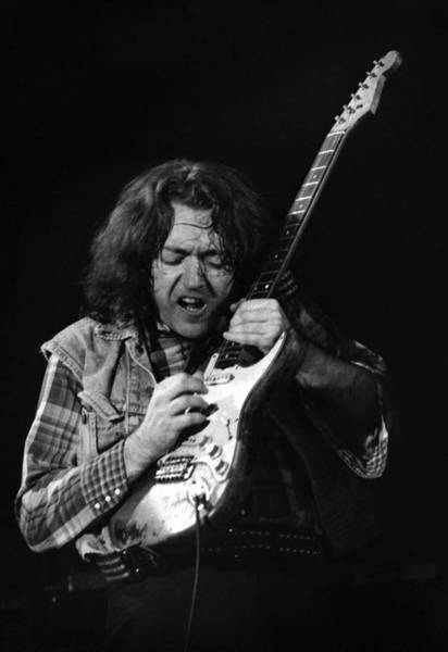 Photograph - Rory Gallagher 1 by Dragan Kudjerski