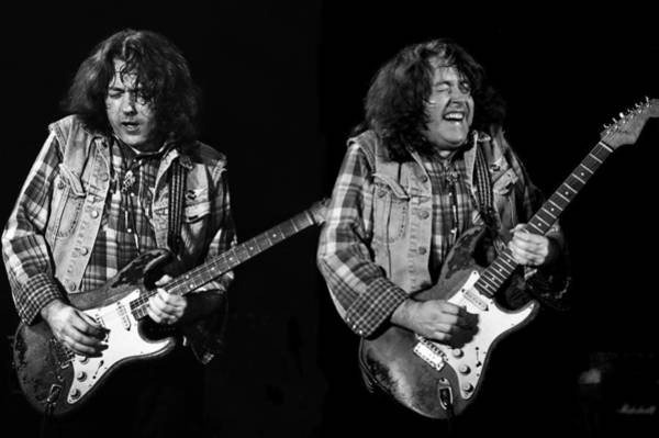 Photograph - Rory Gallagher by Dragan Kudjerski