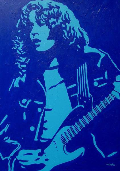 The Restaurant Painting - Rory Gallagher by John  Nolan