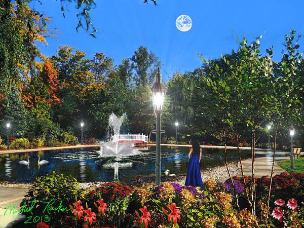 Digital Art - Heavenly Garden by Michael Rucker