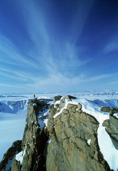 Wall Art - Photograph - Roscoe Bjerge Mountain by Simon Fraser/science Photo Library