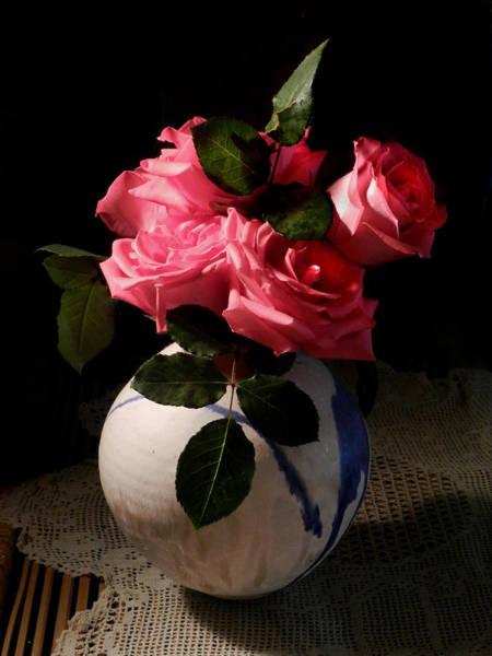 Photograph - Rose Bouquet by Grace Dillon