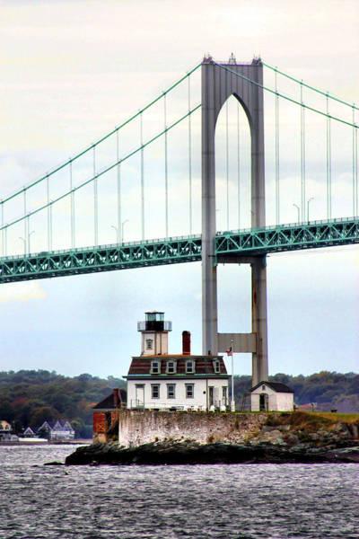 Narragansett Photograph - Rose Island Lighthouse by Kristin Elmquist