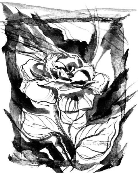 Painting - Rose by Lizi Beard-Ward