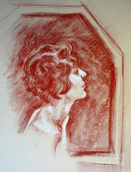 Pastel - Rose Portrait by Alessandra Di Noto