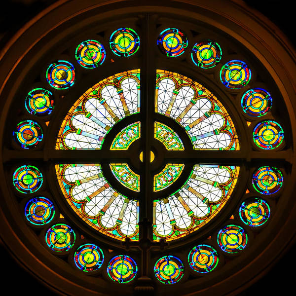 Photograph - Rose Window Silhouette by Jemmy Archer