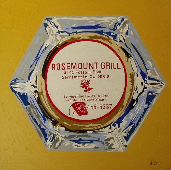 Rosemount Grille Art Print by Paul Guyer