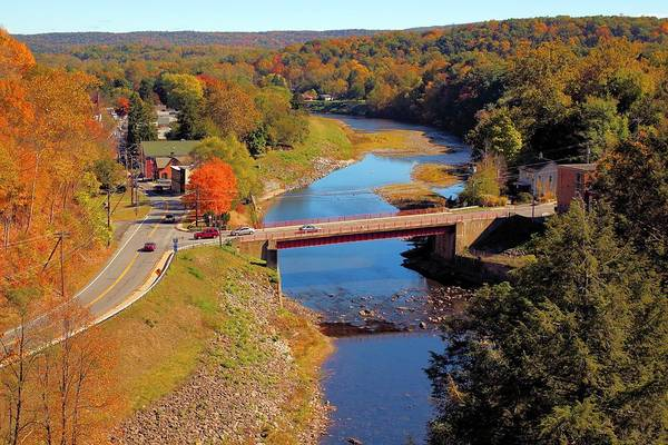 Wall Art - Photograph - Rosendale And Rondout Creek by Robert McCulloch