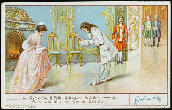 Wall Art - Drawing - Rosenkavalier  Octavian Presents by Mary Evans Picture Library