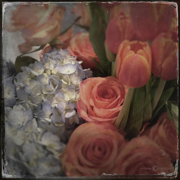 Photograph - Roses Tulips And by Tim Nyberg