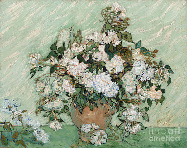 Vincent Van Gogh Painting - Roses by Vincent Van Gogh
