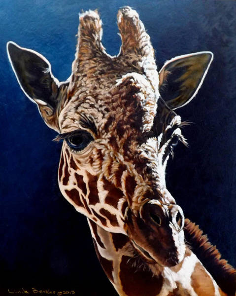 Painting - Rosie by Linda Becker