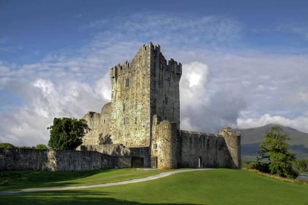 Killarney Photograph - Ross Castle, Killarney, Ireland by Anik Messier