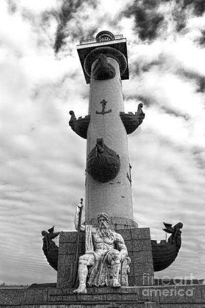 Photograph - Rostral Column by Elena Nosyreva