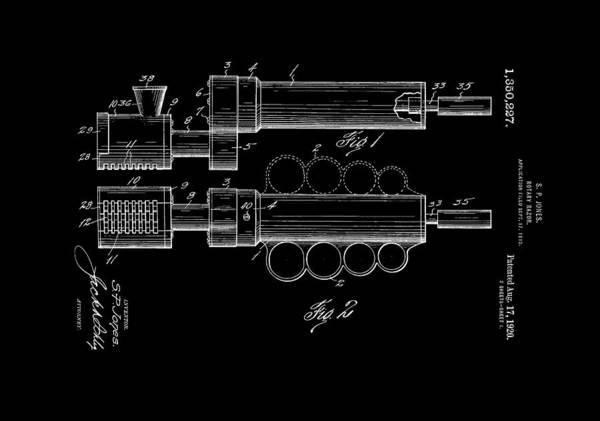 Digital Art - Rotary Razor 1920 Jones Reversed by Lesa Fine