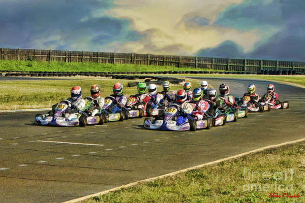 Photograph - Rotax Challenge Of The Americas Sr. Max Grid by Blake Richards