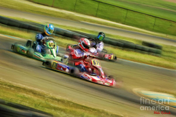Photograph - Rotax Masters Final by Blake Richards