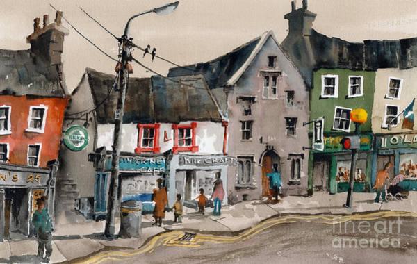 Painting - Medieval Kilkenny by Val Byrne