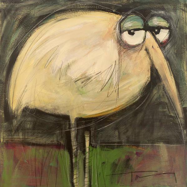 Wall Art - Painting - Rotund Bird by Tim Nyberg