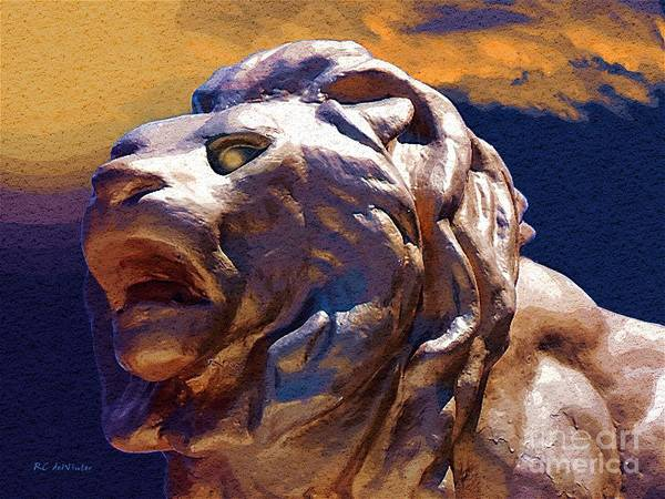 Painting - Rough Majesty by RC DeWinter
